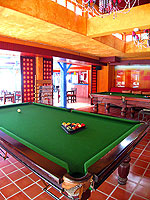 Pool Table : Baan Samui Resort, Chaweng Beach, Phuket