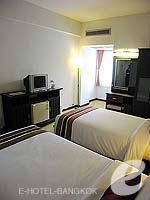 バンコク サイアム・プラトゥーナムのホテル : バイヨーク ブティック ホテル(Baiyoke Boutique Hotel)のデラックスルームの設備 Facilities