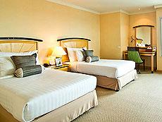 バンコク サイアム・プラトゥーナムのホテル : バイヨーク スカイ ホテル(Baiyoke Sky Hotel)のお部屋「ジュニア スイート ツイン(スカイゾーン)」