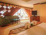バンコク サイアム・プラトゥーナムのホテル : バイヨーク スカイ ホテル(Baiyoke Sky Hotel)のスーペリア スイート シングル(スカイゾーン)ルームの設備 Room View