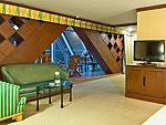 バンコク サイアム・プラトゥーナムのホテル : バイヨーク スカイ ホテル(Baiyoke Sky Hotel)のスーペリア スイート ツイン(スカイゾーン)ルームの設備 Room View