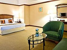 バンコク サイアム・プラトゥーナムのホテル : バイヨーク スカイ ホテル(Baiyoke Sky Hotel)のお部屋「スーペリア スイート ツイン(スカイゾーン)」