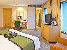 バンコク サイアム・プラトゥーナムのホテル : バイヨーク スカイ ホテル(Baiyoke Sky Hotel)のお部屋「デラックス シングル(スペースゾーン)」
