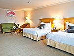 バンコク サイアム・プラトゥーナムのホテル : バイヨーク スカイ ホテル(Baiyoke Sky Hotel)のデラックス ツイン(スペースゾーン)ルームの設備 Room View