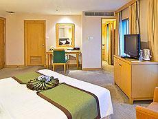 バンコク サイアム・プラトゥーナムのホテル : バイヨーク スカイ ホテル(Baiyoke Sky Hotel)のお部屋「デラックス ツイン(スペースゾーン)」
