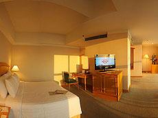 バンコク サイアム・プラトゥーナムのホテル : バイヨーク スカイ ホテル(Baiyoke Sky Hotel)のお部屋「ジュニア スイート シングル (スペースゾーン)」