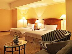 バンコク サイアム・プラトゥーナムのホテル : バイヨーク スカイ ホテル(Baiyoke Sky Hotel)のお部屋「ジュニア スイート ツイン(スペース ゾーン)」