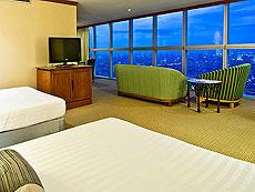 バンコク サイアム・プラトゥーナムのホテル : バイヨーク スカイ ホテル(Baiyoke Sky Hotel)のお部屋「スーペリア スイート シングル (スペースゾーン)」