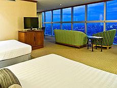 バンコク サイアム・プラトゥーナムのホテル : バイヨーク スカイ ホテル(Baiyoke Sky Hotel)のお部屋「スーペリア スイート ツイン (スペースゾーン)」