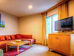 バンコク サイアム・プラトゥーナムのホテル : バイヨーク スカイ ホテル(Baiyoke Sky Hotel)のプレジデンタル スイート シングル(スペースゾーン)ルームの設備 Room View