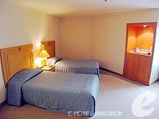 バンコク サイアム・プラトゥーナムのホテル : バイヨーク スカイ ホテル(Baiyoke Sky Hotel)のお部屋「ラン オブ ザ ハウス ツイン(スタンダード ゾーン)」
