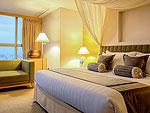 バンコク サイアム・プラトゥーナムのホテル : バイヨーク スカイ ホテル(Baiyoke Sky Hotel)のプレジデンタル スイート ツイン(スペースゾーン)ルームの設備 Room View