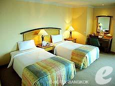 バンコク サイアム・プラトゥーナムのホテル : バイヨーク スカイ ホテル(Baiyoke Sky Hotel)のお部屋「ジュニアスイート ツイン(スタンダード ゾーン)」