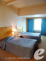 バンコク サイアム・プラトゥーナムのホテル : バイヨーク スカイ ホテル(Baiyoke Sky Hotel)のスーペリア スイート ツイン(スタンダード ゾーン)ルームの設備 Room View