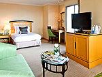バンコク サイアム・プラトゥーナムのホテル : バイヨーク スカイ ホテル(Baiyoke Sky Hotel)のジュニア スイート シングル(スカイゾーン)ルームの設備 Room View