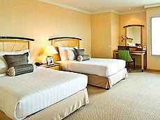 バンコク サイアム・プラトゥーナムのホテル : バイヨーク スカイ ホテル(Baiyoke Sky Hotel)のお部屋「ジュニア スイート シングル(スカイゾーン)」