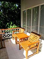 サムイ島 チャウエンビーチのホテル : バナナ ファン シー リゾート(Banana Fan Sea Resort)のスーペリアルームの設備 Terrace