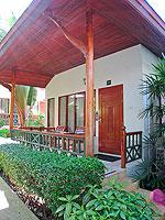 サムイ島 チャウエンビーチのホテル : バナナ ファン シー リゾート(Banana Fan Sea Resort)のデラックスルームの設備 Exterior