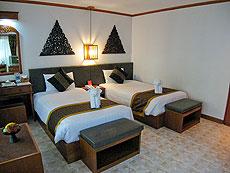 サムイ島 チャウエンビーチのホテル : バナナ ファン シー リゾート(1)のお部屋「デラックス」