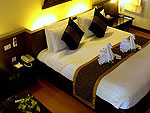 サムイ島 チャウエンビーチのホテル : バナナ ファン シー リゾート(Banana Fan Sea Resort)のプールビュー デラックスルームの設備 Room View