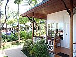 サムイ島 チャウエンビーチのホテル : バナナ ファン シー リゾート(Banana Fan Sea Resort)のプールビュー デラックスルームの設備 Exterior