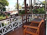 サムイ島 チャウエンビーチのホテル : バナナ ファン シー リゾート(Banana Fan Sea Resort)のプールビュー デラックスルームの設備 Terrace