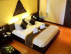サムイ島 チャウエンビーチのホテル : バナナ ファン シー リゾート(1)のお部屋「プールビュー デラックス」