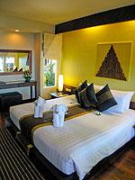 サムイ島 チャウエンビーチのホテル : バナナ ファン シー リゾート(Banana Fan Sea Resort)のビーチフロント デラックスルームの設備 Room View