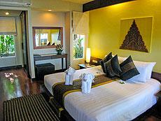 サムイ島 チャウエンビーチのホテル : バナナ ファン シー リゾート(1)のお部屋「ビーチフロント デラックス」