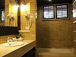 サムイ島 チャウエンビーチのホテル : バナナ ファン シー リゾート(Banana Fan Sea Resort)のプール スタジオルームの設備 Bathroom