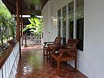 サムイ島 チャウエンビーチのホテル : バナナ ファン シー リゾート(Banana Fan Sea Resort)のプール スタジオルームの設備 Terrace