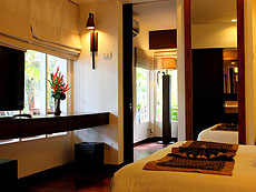 サムイ島 チャウエンビーチのホテル : バナナ ファン シー リゾート(1)のお部屋「プール スタジオ」