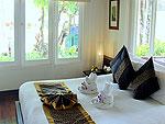 サムイ島 チャウエンビーチのホテル : バナナ ファン シー リゾート(Banana Fan Sea Resort)のプールビュー バンガロールームの設備 Room View