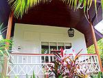 サムイ島 チャウエンビーチのホテル : バナナ ファン シー リゾート(Banana Fan Sea Resort)のプールビュー バンガロールームの設備 Exterior