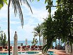 サムイ島 チャウエンビーチのホテル : バナナ ファン シー リゾート(Banana Fan Sea Resort)のプールビュー バンガロールームの設備 Pool View