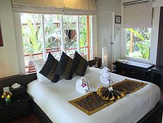 サムイ島 チャウエンビーチのホテル : バナナ ファン シー リゾート(1)のお部屋「プールビュー バンガロー」