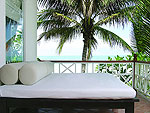 サムイ島 チャウエンビーチのホテル : バナナ ファン シー リゾート(Banana Fan Sea Resort)のビーチフロント ヴィラルームの設備 Terrace