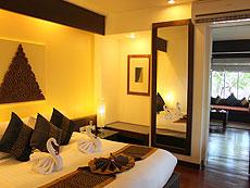 サムイ島 チャウエンビーチのホテル : バナナ ファン シー リゾート(1)のお部屋「ビーチフロント ヴィラ」