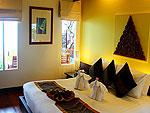 サムイ島 チャウエンビーチのホテル : バナナ ファン シー リゾート(Banana Fan Sea Resort)のエグゼクティブ スイートルームの設備 Room View