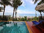 サムイ島 チャウエンビーチのホテル : バナナ ファン シー リゾート(Banana Fan Sea Resort)のエグゼクティブ スイートルームの設備 Private Pool