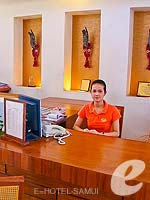 Reception : Bandara Resort & Spa Samui, Bophut Beach, Phuket
