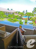 Lobby Lounge : Bandara Resort & Spa Samui, Bophut Beach, Phuket