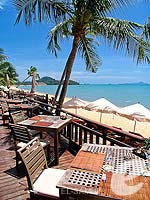 Beach Restaurant : Bandara Resort & Spa Samui, Bophut Beach, Phuket