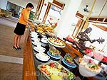 Breakfast Buffet : Bandara Resort & Spa Samui, Bophut Beach, Phuket