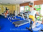 Fitness Gym : Bandara Resort & Spa Samui, Bophut Beach, Phuket