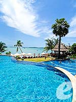 Beachfront Pool : Bandara Resort & Spa Samui, Free Wifi, Phuket