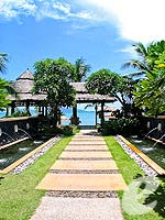 Pathway to Beach : Bandara Resort & Spa Samui, Bophut Beach, Phuket