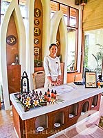 Spa Reception : Bandara Resort & Spa Samui, Bophut Beach, Phuket