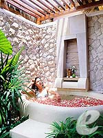Spa Flower Bath : Bandara Resort & Spa Samui, Bophut Beach, Phuket