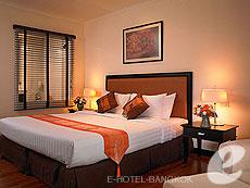 バンコク シーロム・サトーン周辺のホテル : バンダラ スイート シーロム バンコク(Bandara Suite Silom Bangkok)のお部屋「デラックス」